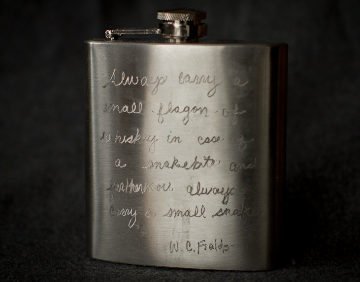 Engraved quote #2