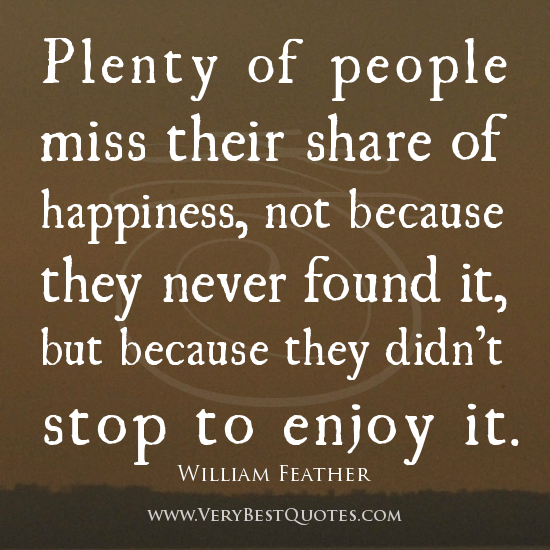 Enjoying Life quote #2