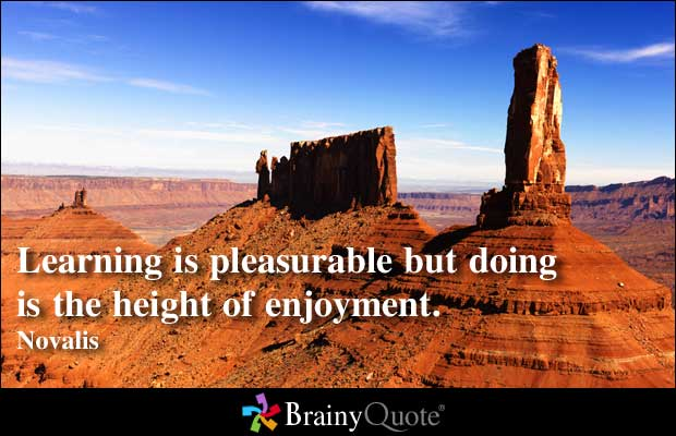 Enjoyment quote #1