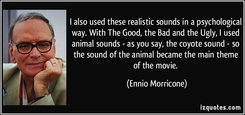 Ennio Morricone's quote #3