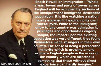 Enoch Powell's quote #2