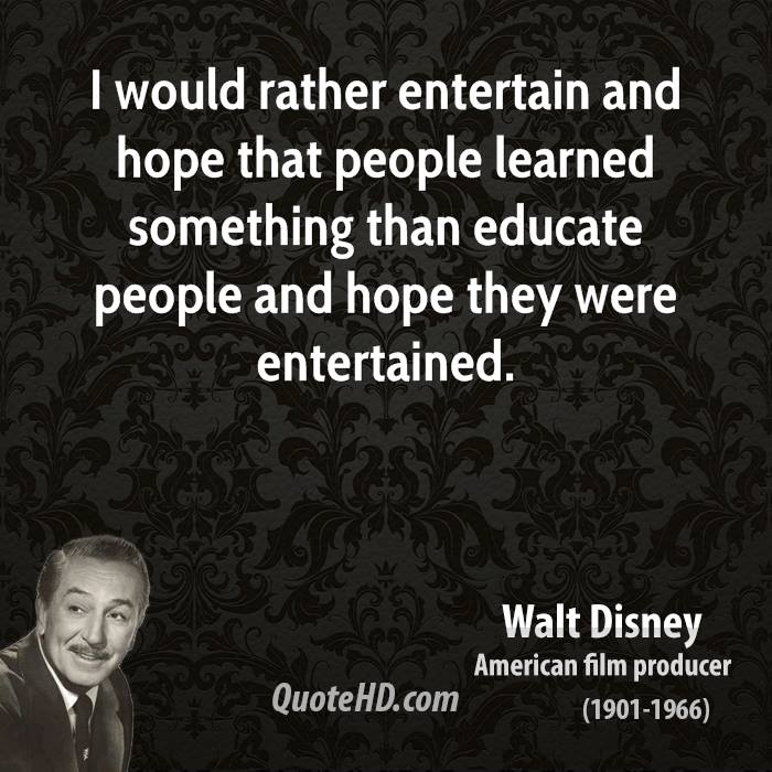 Entertain quote #2