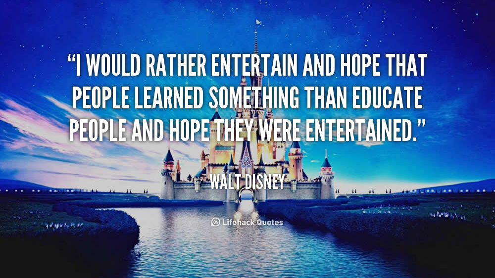 Entertain quote #5