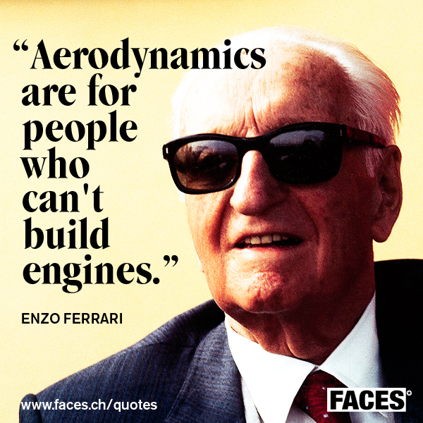 Enzo Ferrari's quote #1