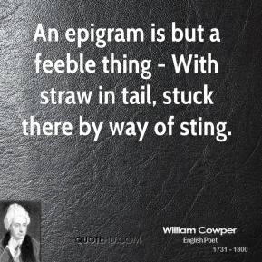 Epigram quote #1