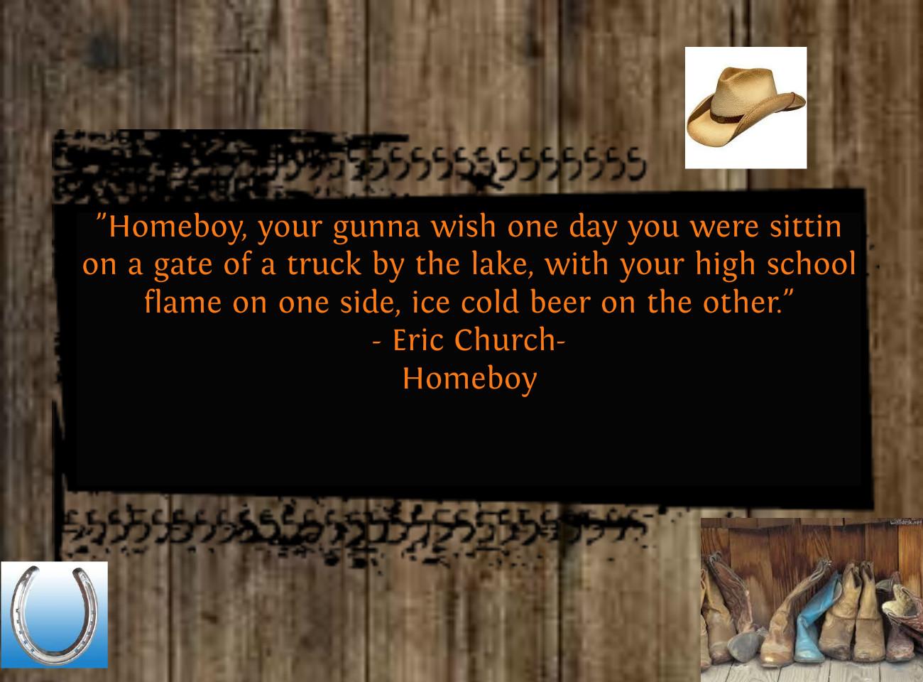 Eric Church's quote #5