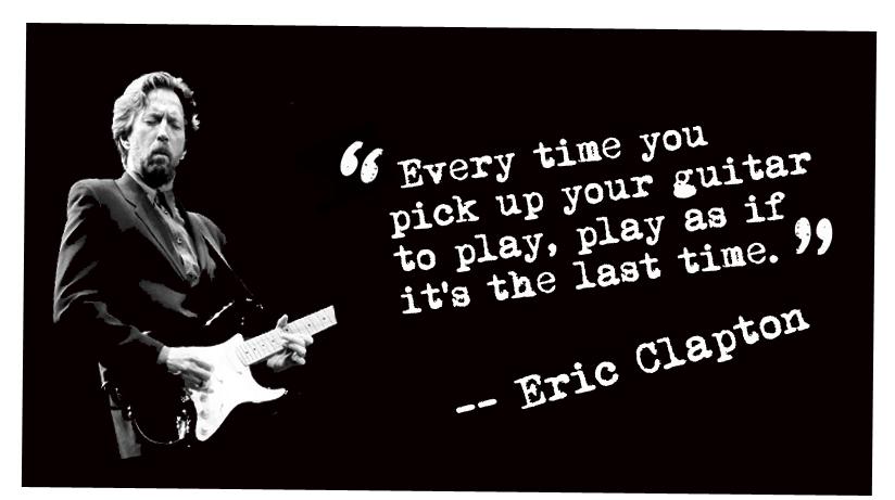 Eric Clapton quote #1