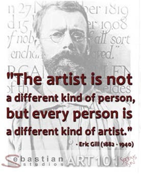 Eric Gill's quote #1