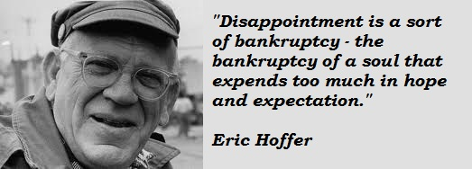 Eric Hoffer's quote #8