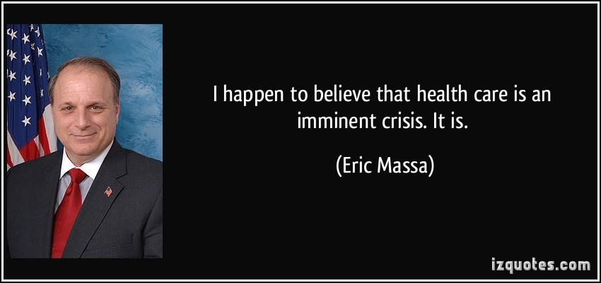 Eric Massa's quote