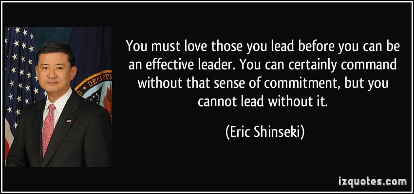 Eric Shinseki's quote #2