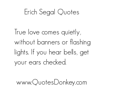 Erich Segal's quote