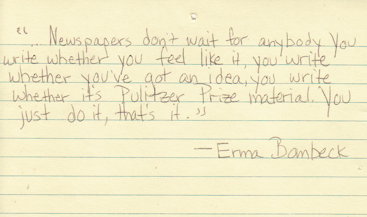 Erma Bombeck's quote #8