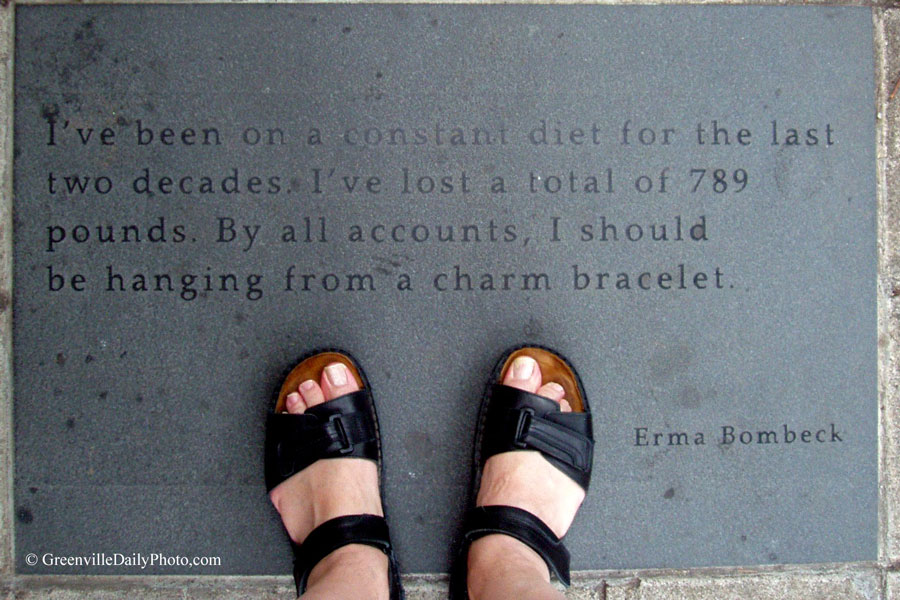 Erma Bombeck's quote #1