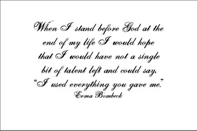 Erma Bombeck's quote #4