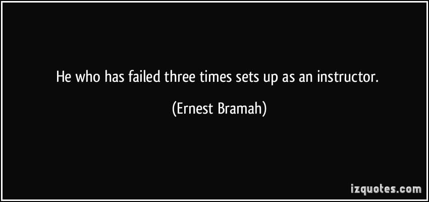 Ernest Bramah's quote #1