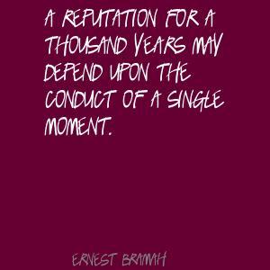 Ernest Bramah's quote #2
