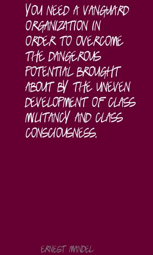 Ernest Mandel's quote