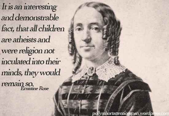 Ernestine Rose's quote #6