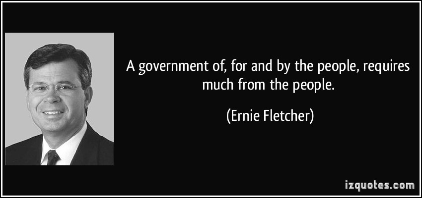 Ernie Fletcher's quote #2