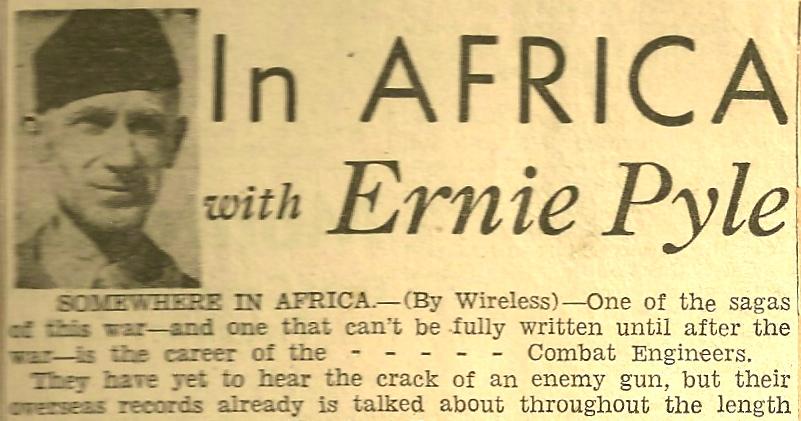 Ernie Pyle's quote #1
