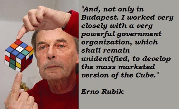 Erno Rubik's quote #2