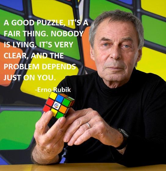 Erno Rubik's quote #3