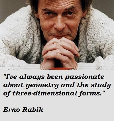 Erno Rubik's quote #7