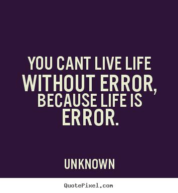Error quote #5