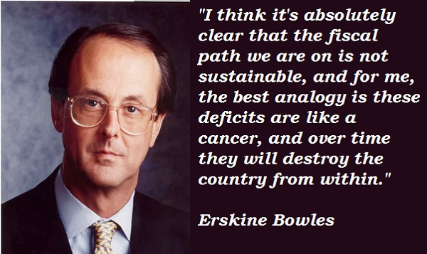 Erskine Bowles's quote