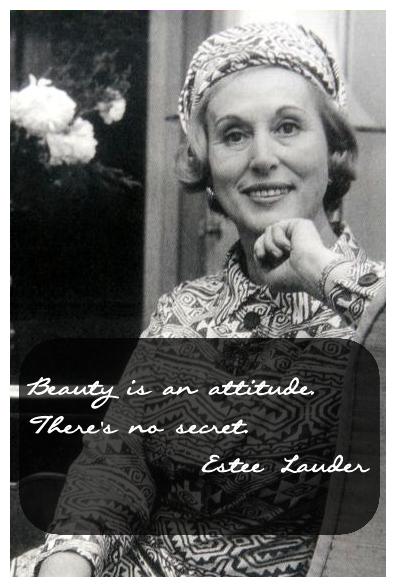 Estee Lauder's quote