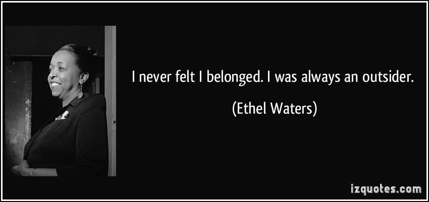 Ethel Waters's quote