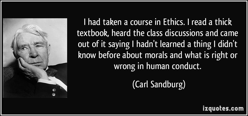 Ethics quote #1