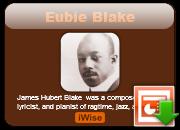 Eubie Blake's quote #2