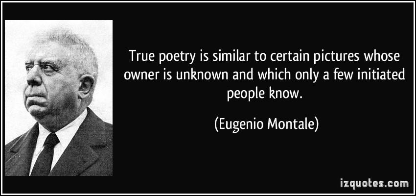 Eugenio Montale's quote #7