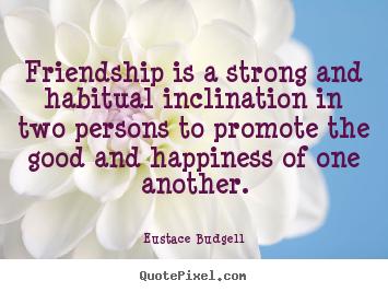Eustace Budgell's quote