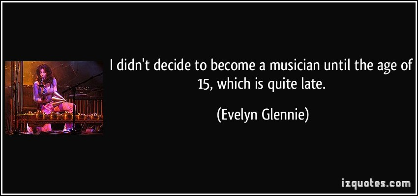 Evelyn Glennie's quote #1