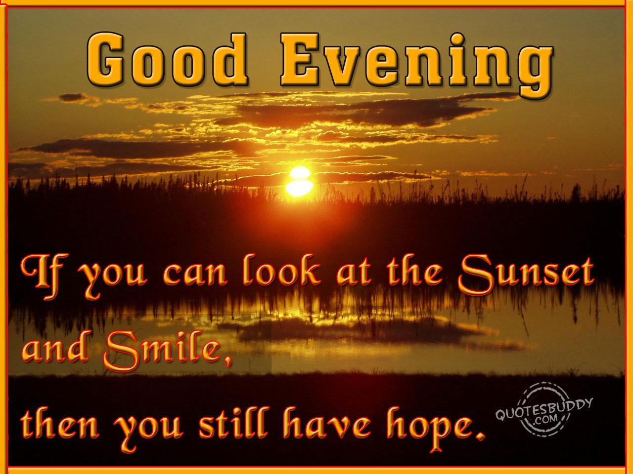 Evening quote #1