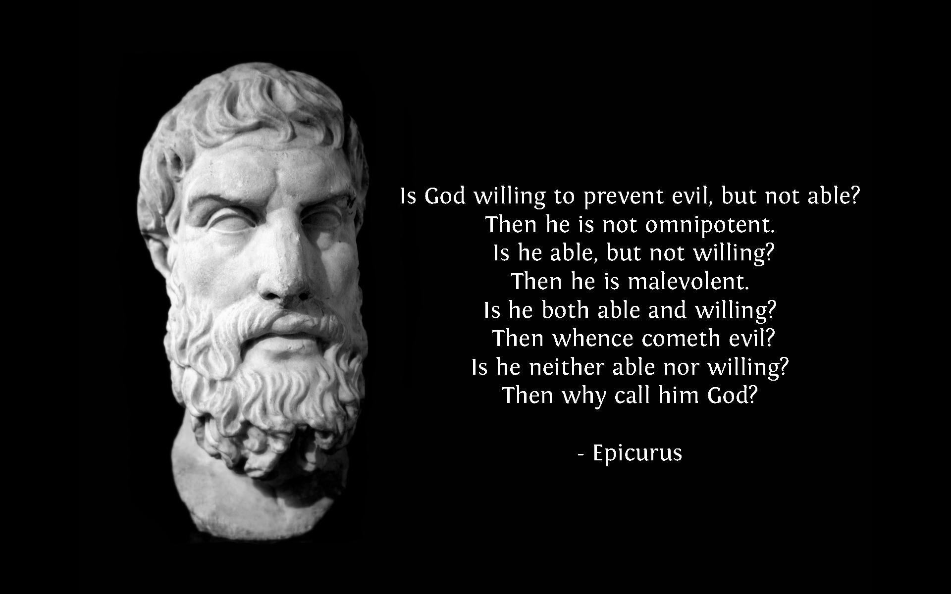Evils quote #1