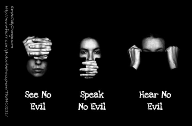 Evils quote #2