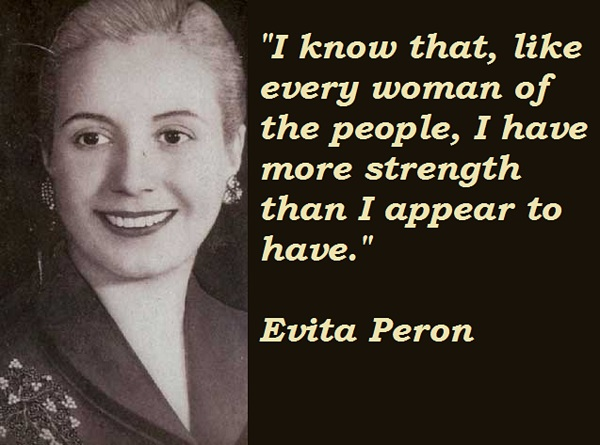 Evita Peron's quote #5