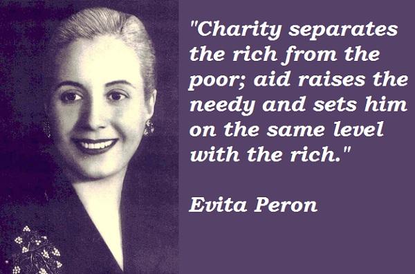 Evita Peron's quote #8