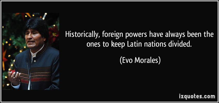 Evo Morales's quote #8