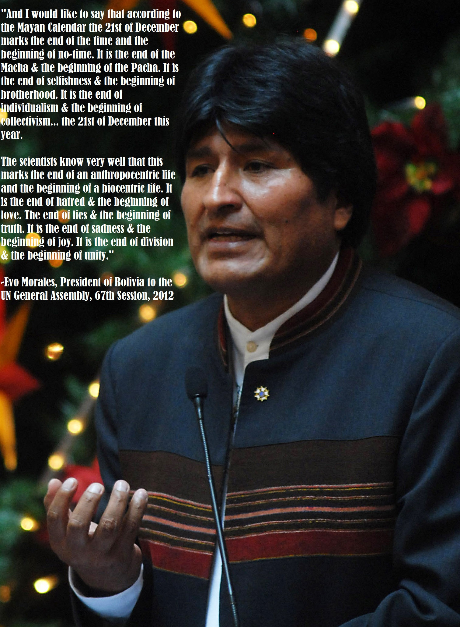 Evo Morales's quote #4