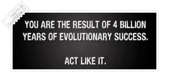 Evolution quote #1