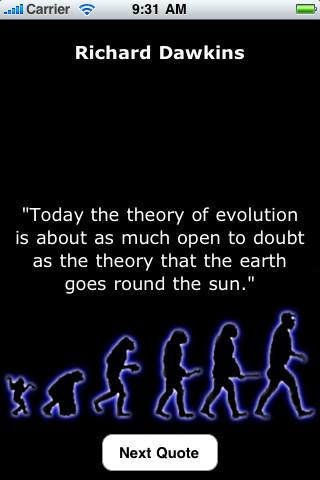 Evolution quote #2