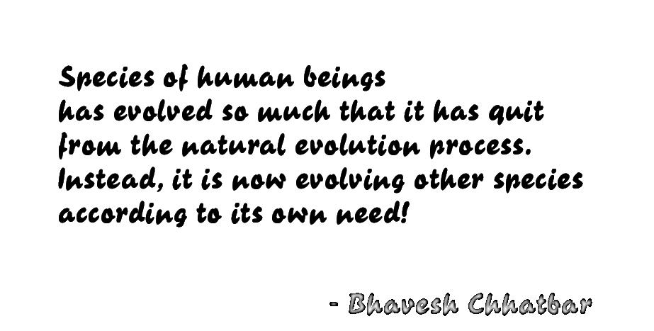 Evolution quote #6