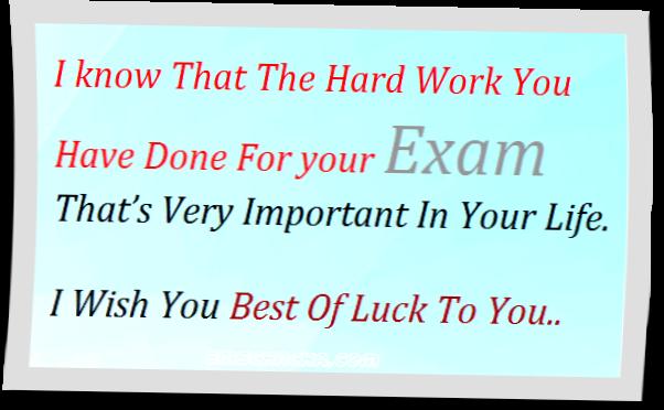 Examinations quote #2