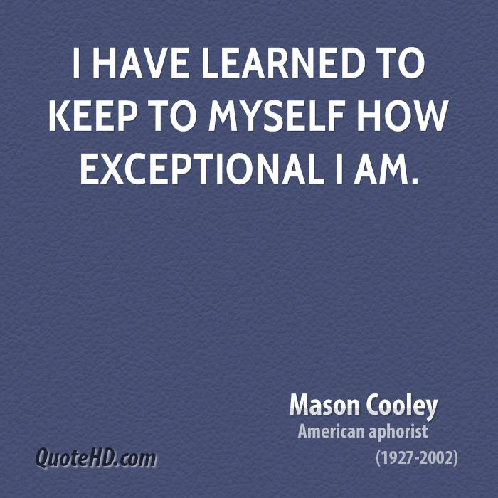 Exceptional quote #2