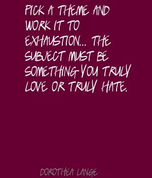 Exhaustion quote